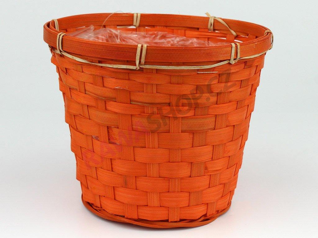 Obal na květiny velký - oranžový
