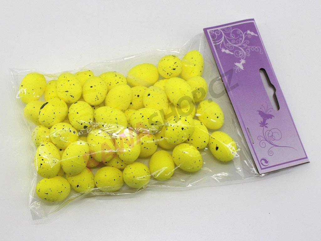 Křepelčí vejce 50 ks - žlutá