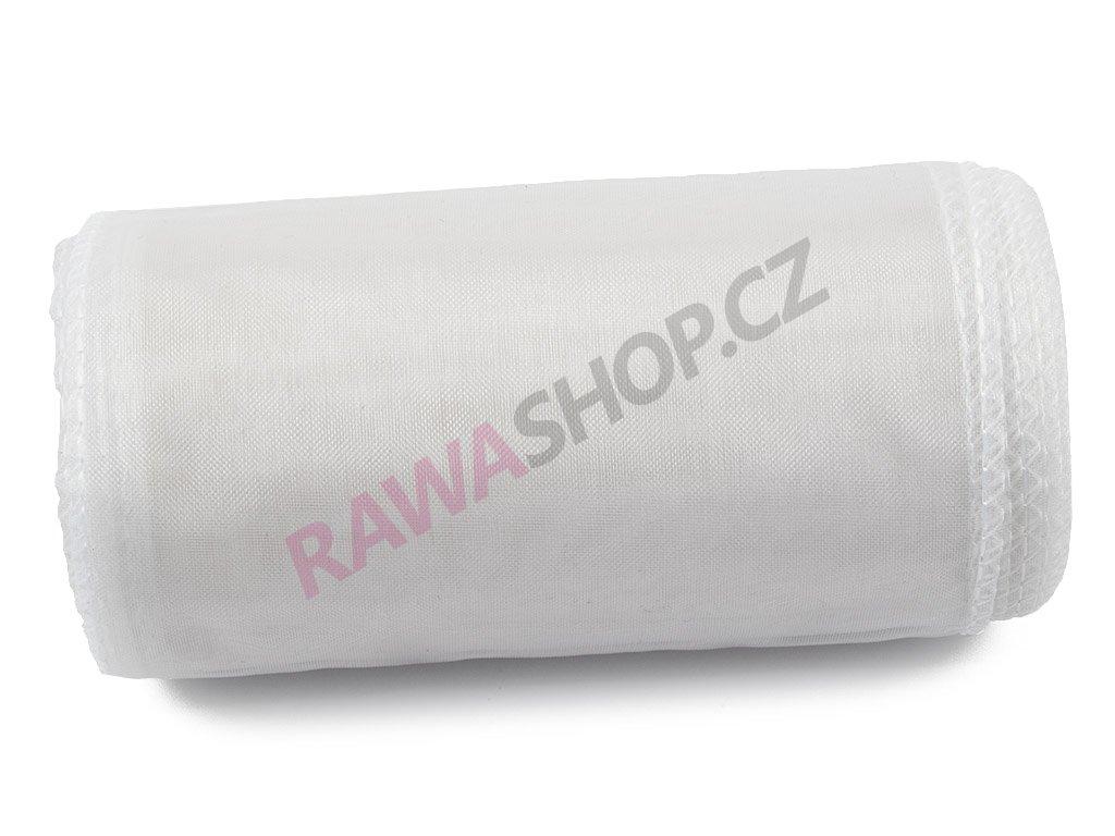 Organza 12 cm - white