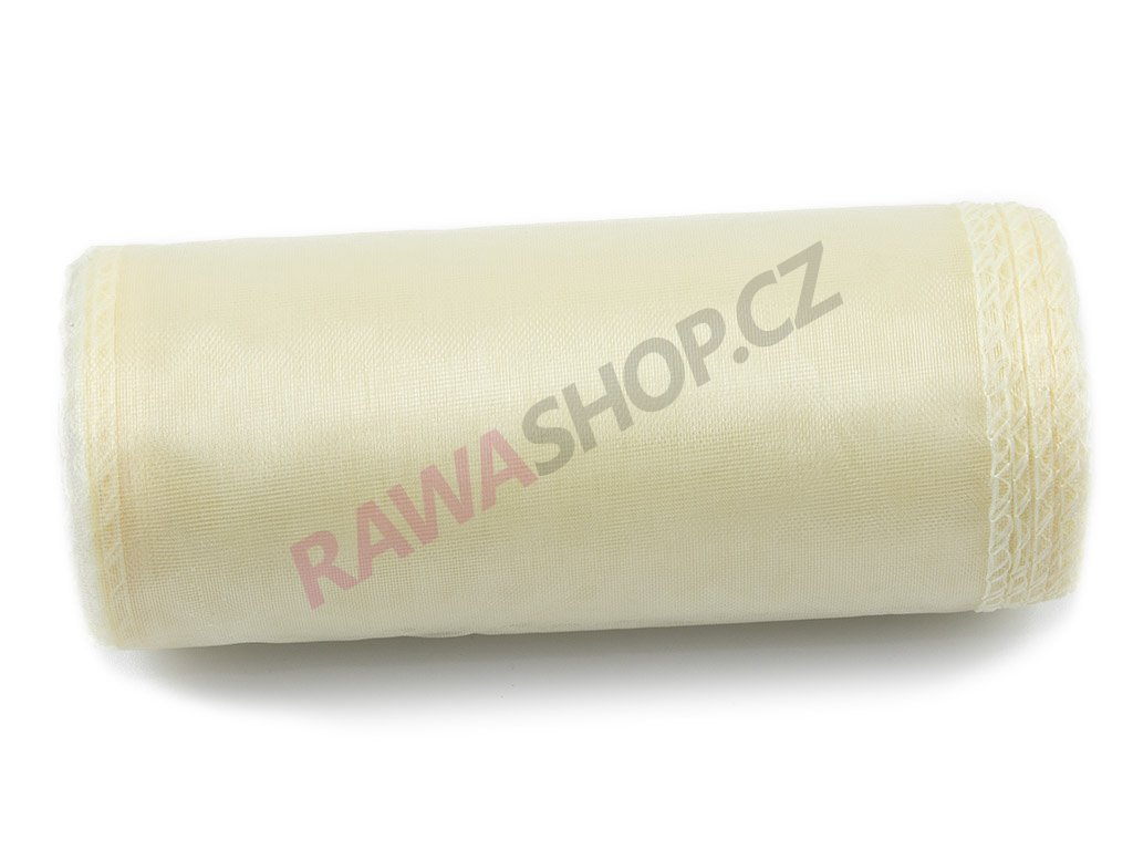Organza 12 cm - cream