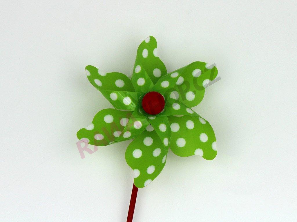 Větrník zapich - zelený