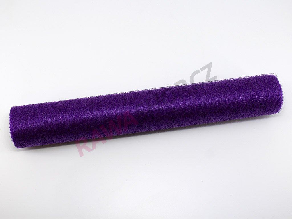 Spider organza 36 cm - fialová