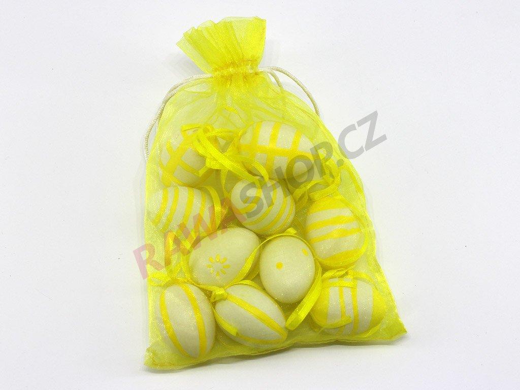 Vajíčka v pytlíku - žlutá