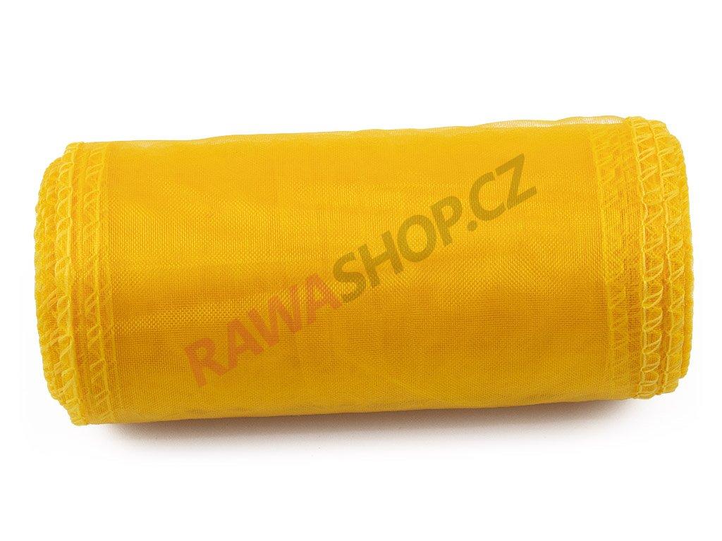 Organza 12 cm - yellow