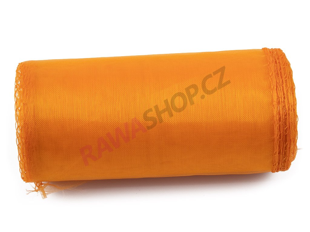 Organza 12 cm - orange