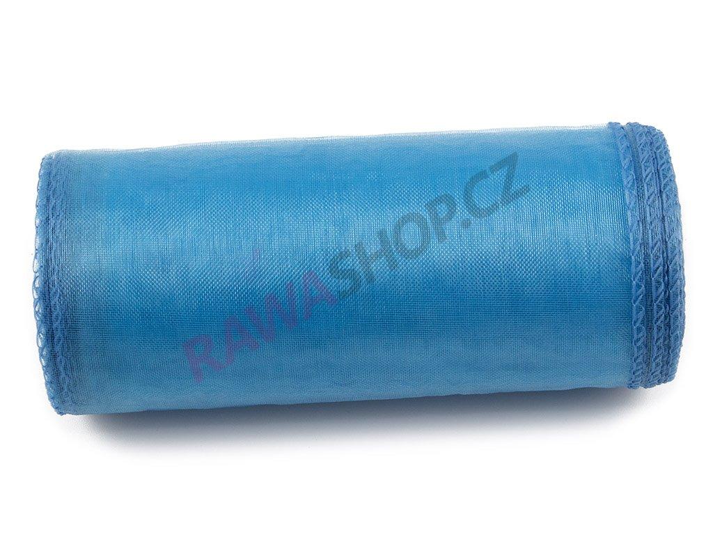 Organza 12 cm - blue