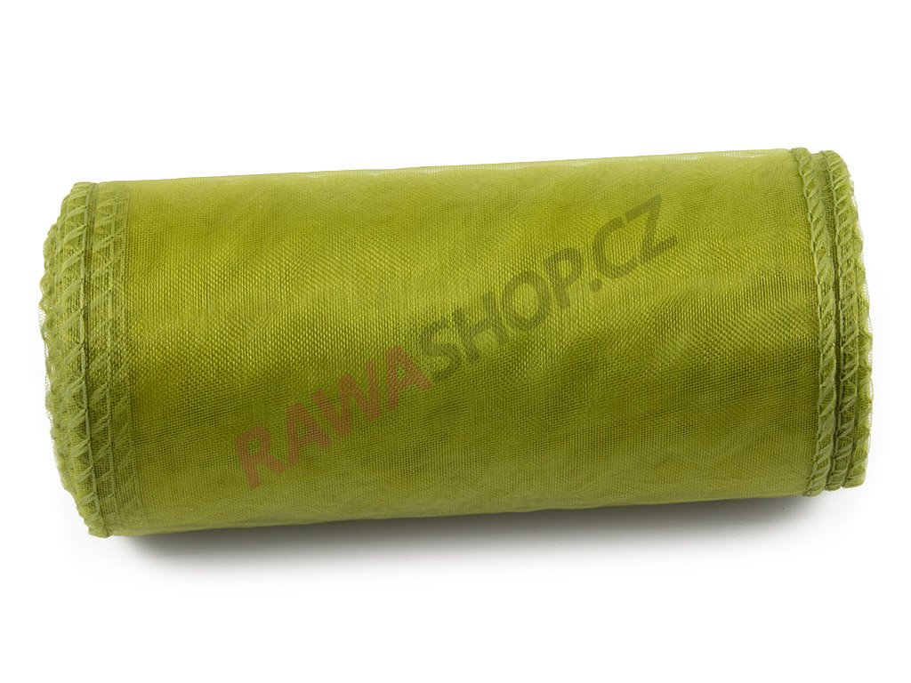 Organza 12 cm - olive