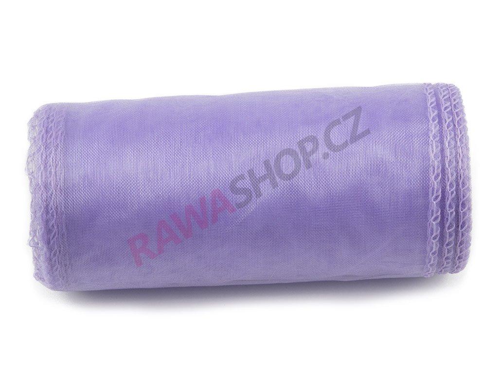 Organza 12 cm - lavenda