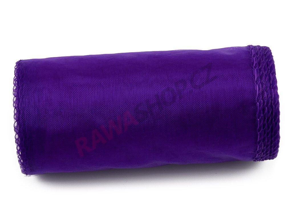 Organza 12 cm - dk. purple