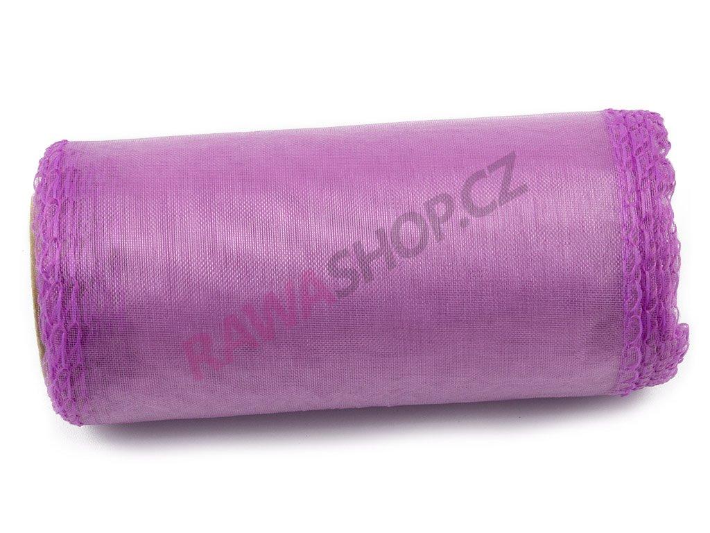 Organza 12 cm - lilac
