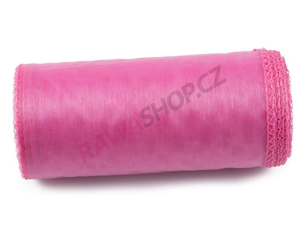 Organza 12 cm - pink