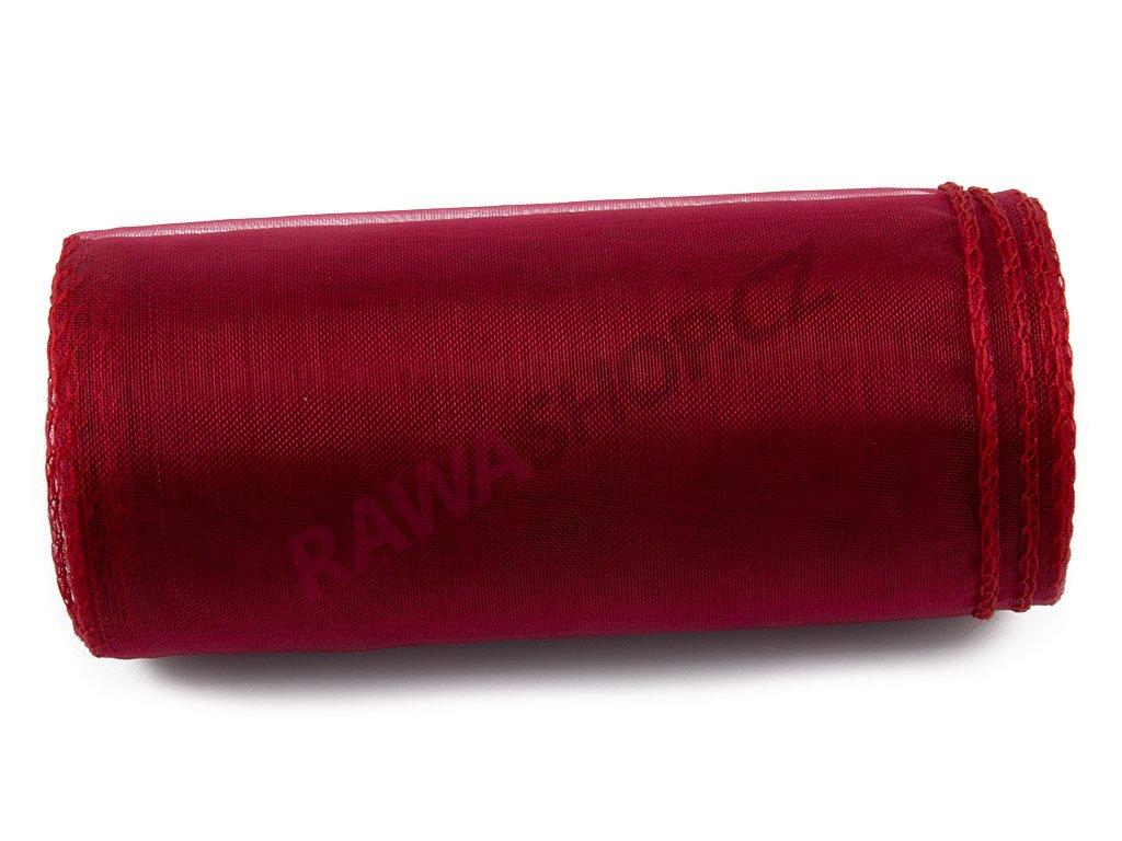 Organza 12 cm - burgundy 1