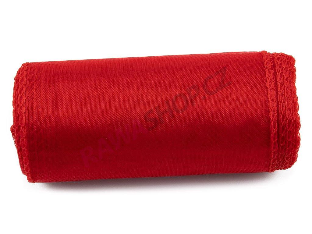 Organza 12 cm - red