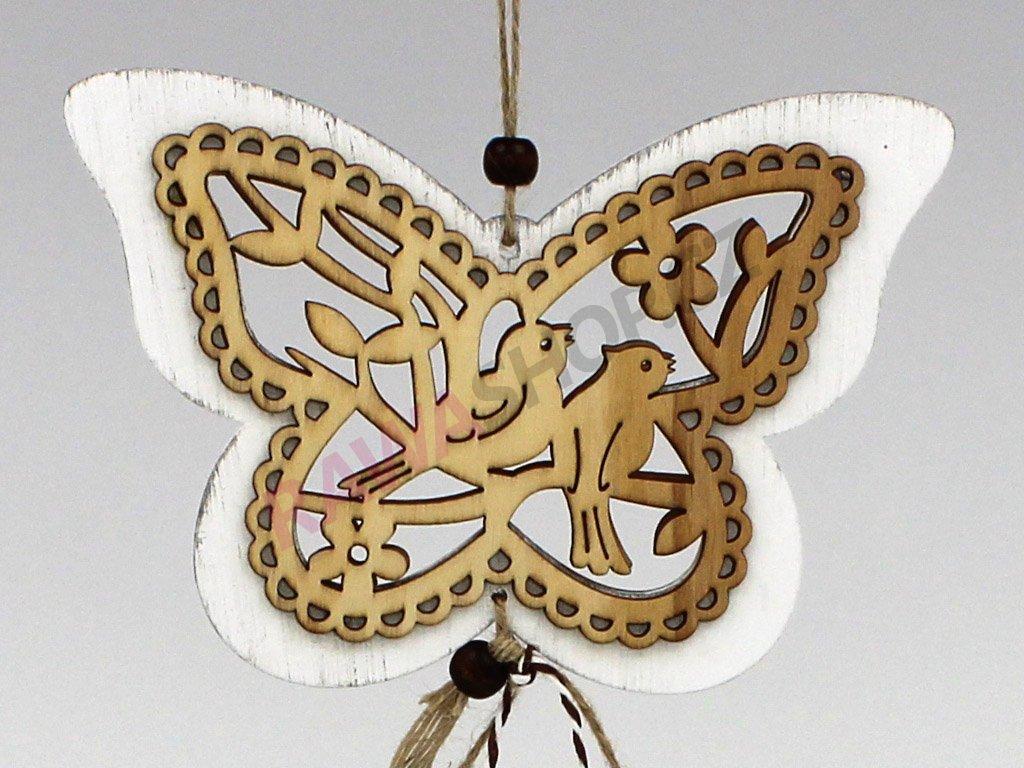 Závěs ptáčci - motýl