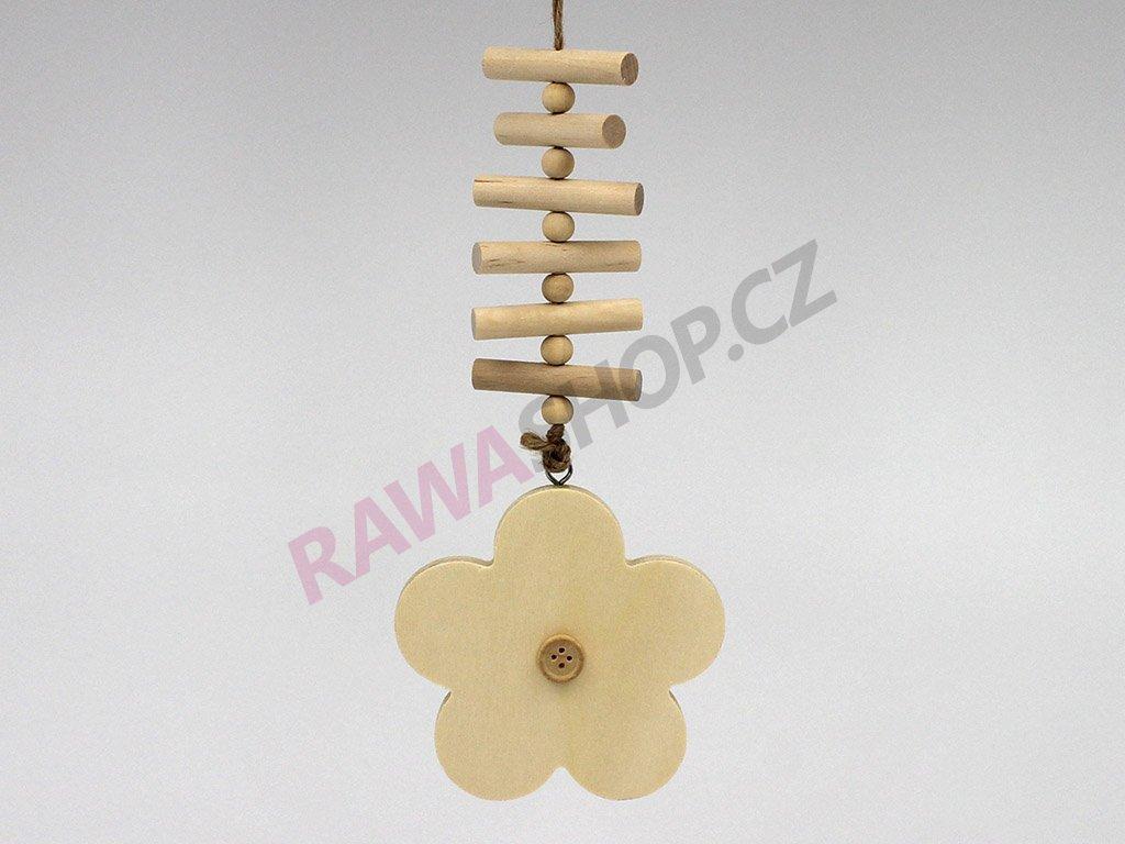 Závěs žebřík - květina