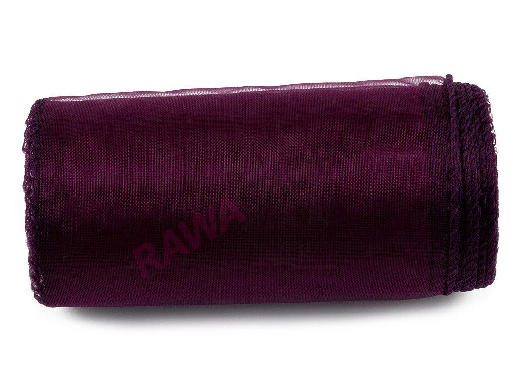 Organza 12 cm - dk. burgundy