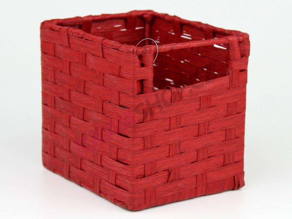 Mini šuplík - červená