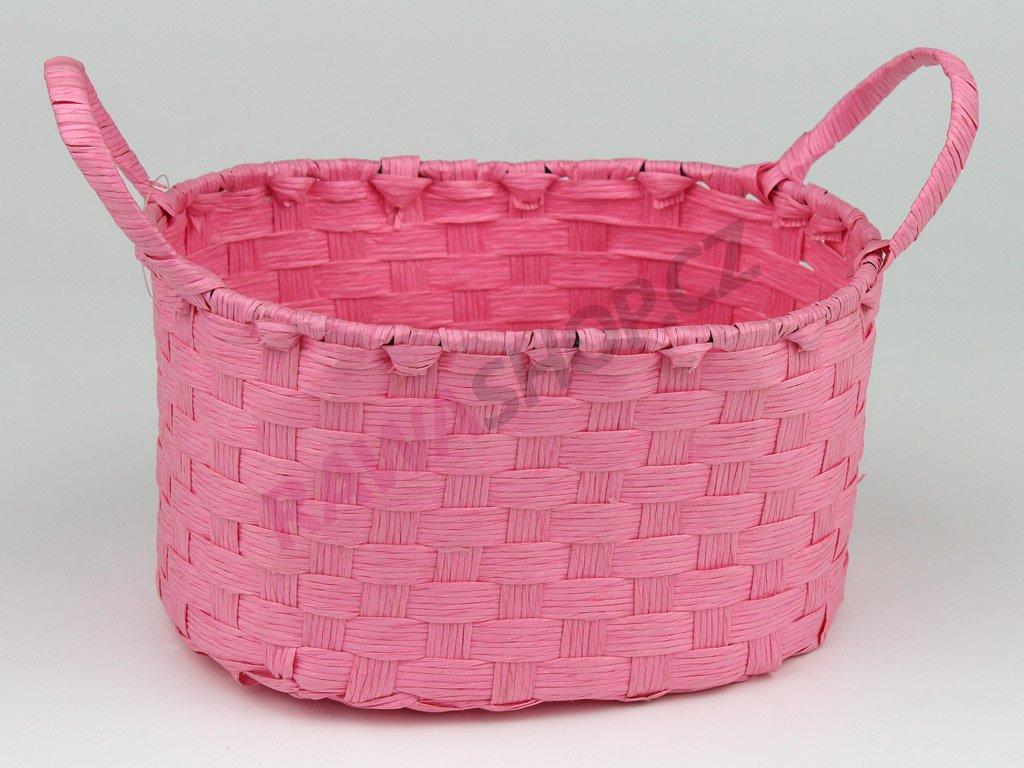 Boxík oválný s oušky - růžová
