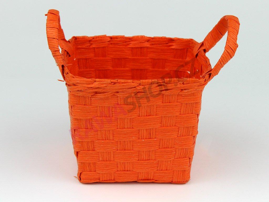 Boxík sada s oušky 2ks - oranžová
