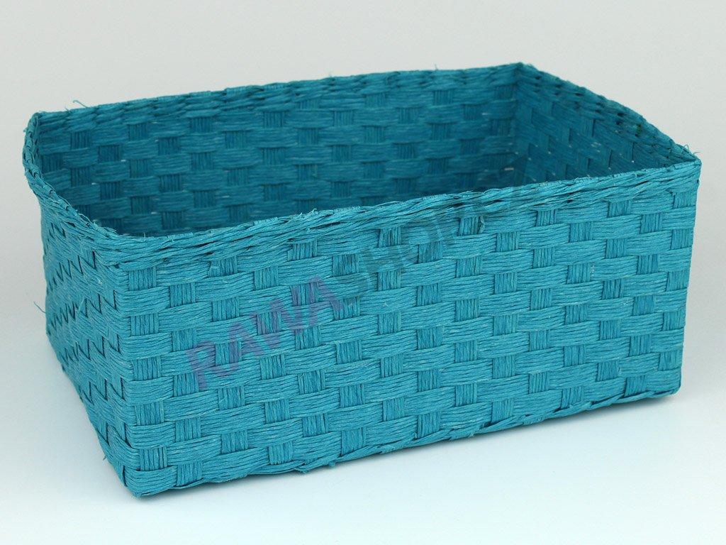 Box obdélník 3ks - sv. modrá