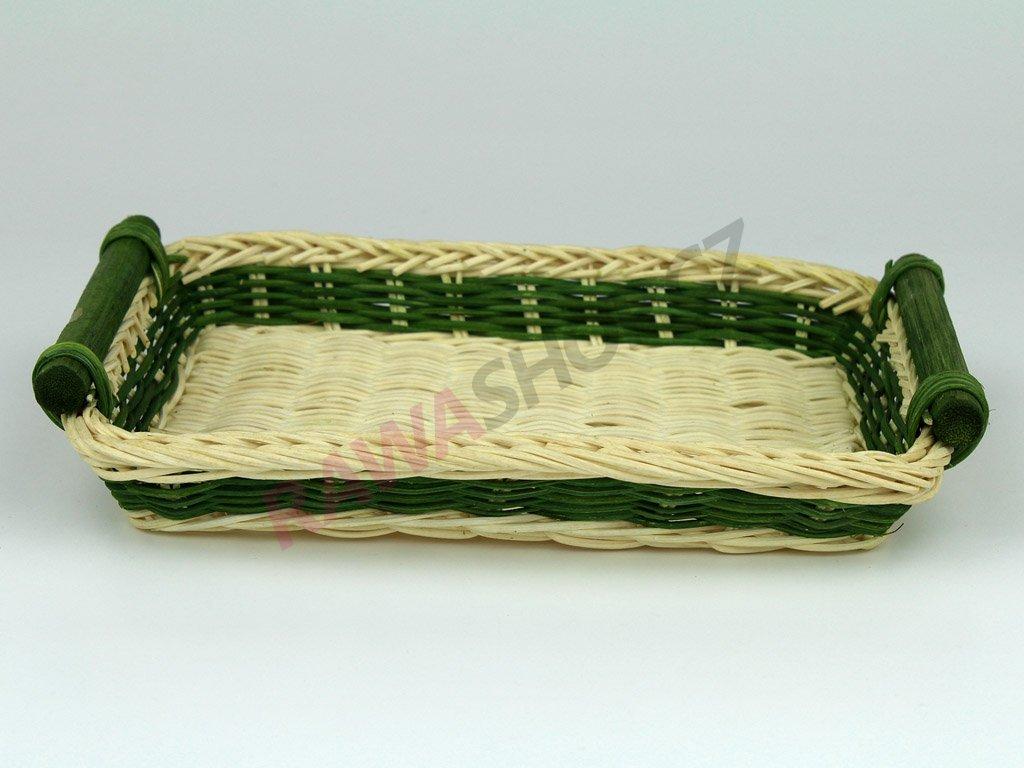 Pedigová miska 21x16 - zelená