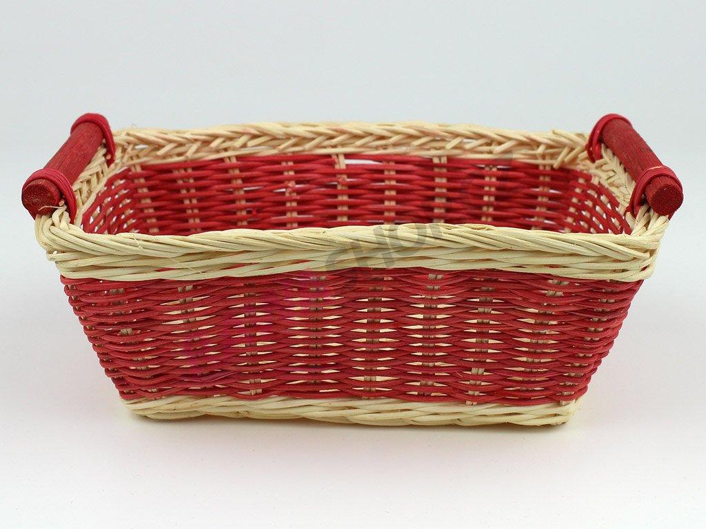 Pedigová miska 22x15 - červená