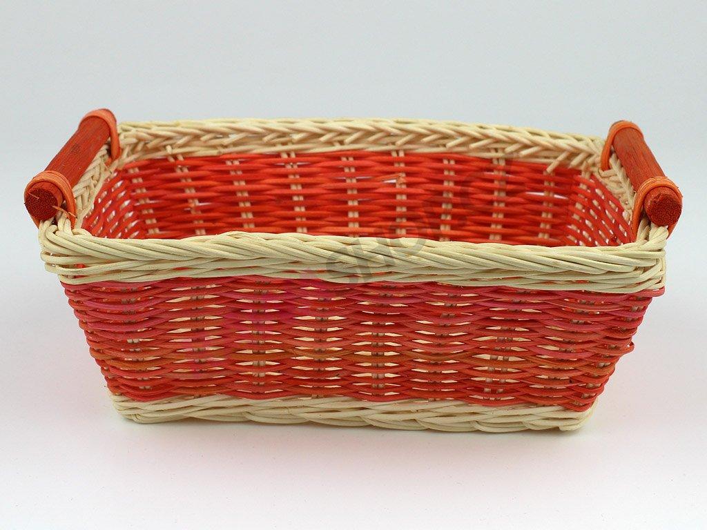 Pedigová miska 22x15 - oranžová
