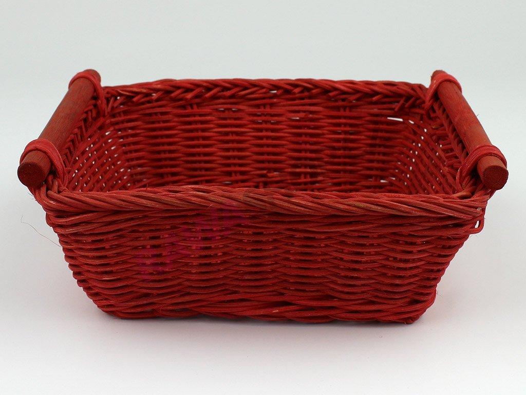 Pedigová miska 20x20v - červená