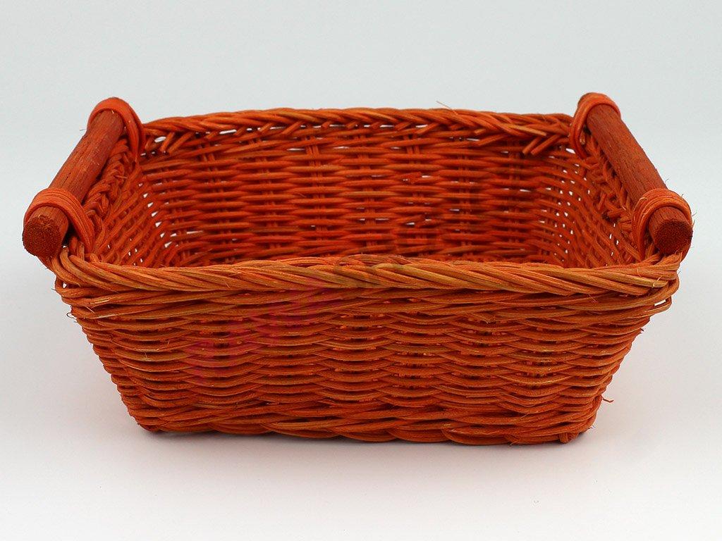 Pedigová miska 20x20v - oranžová