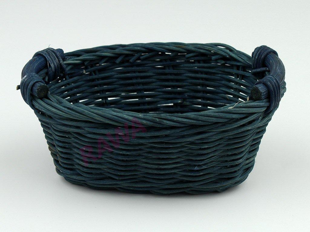Pedigová miska oválek 15x10 - modrá