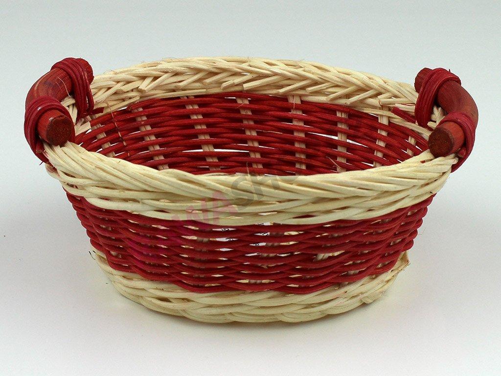 Pedigová miska kulatá Ø14 - červená