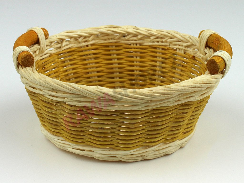 Pedigová miska kulatá Ø14 - žlutá