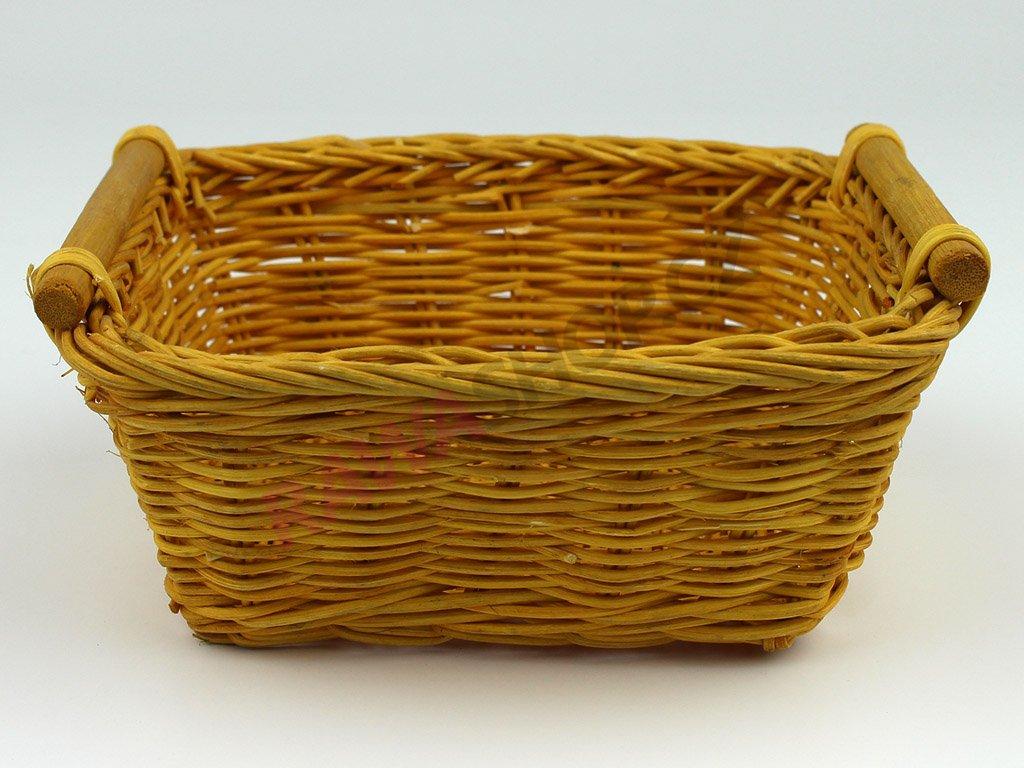 Pedigová miska 15x15 - žlutá