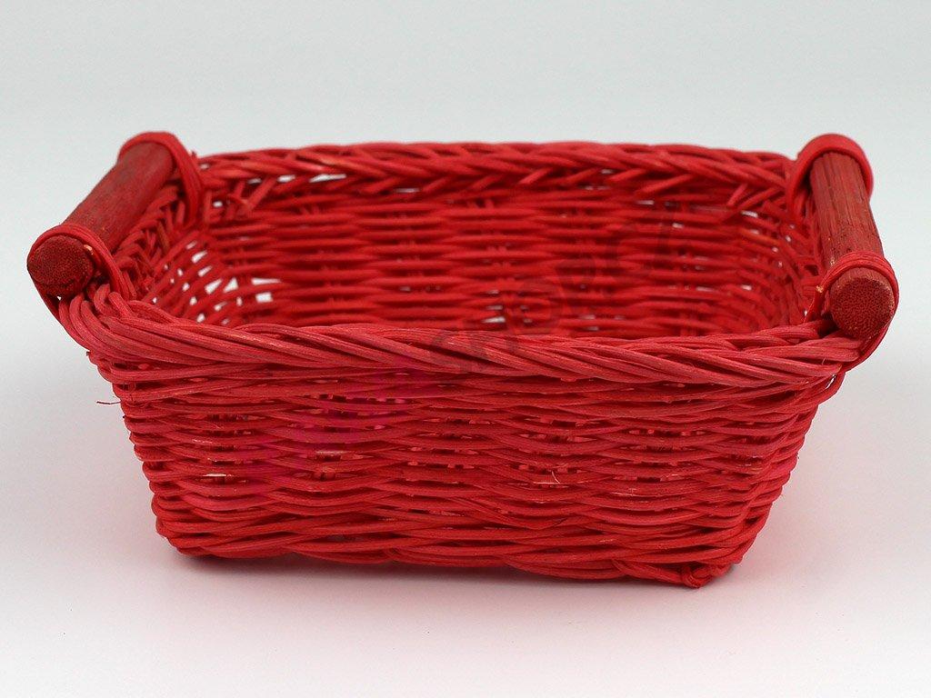 Pedigová miska 15x15 - červená