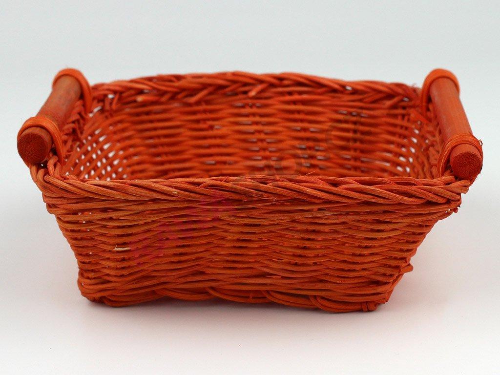 Pedigová miska 15x15 - oranžová