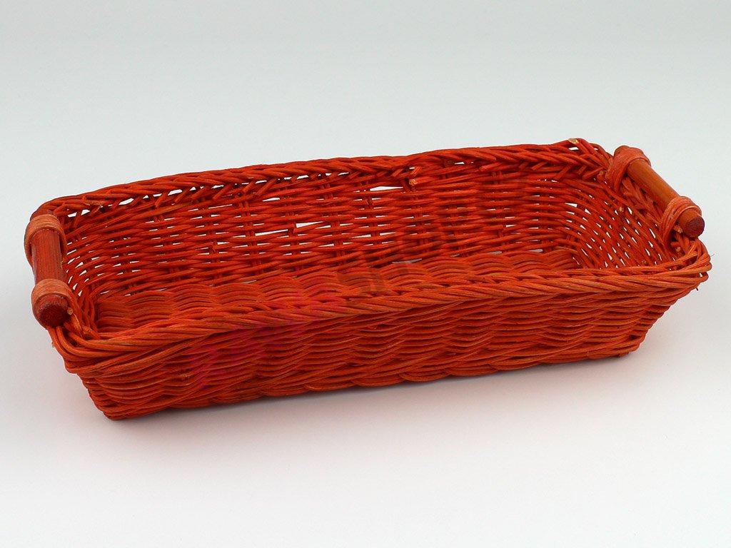 Pedigová miska 28x12 - oranžová