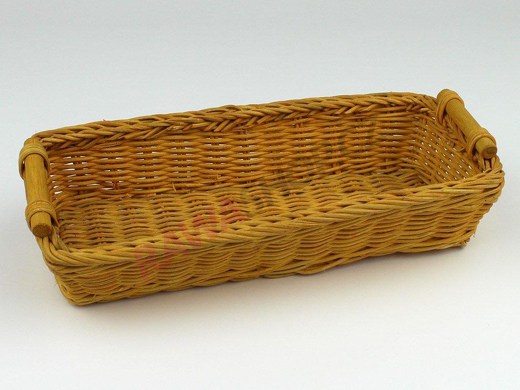 Pedigová miska 28x12 - žlutá