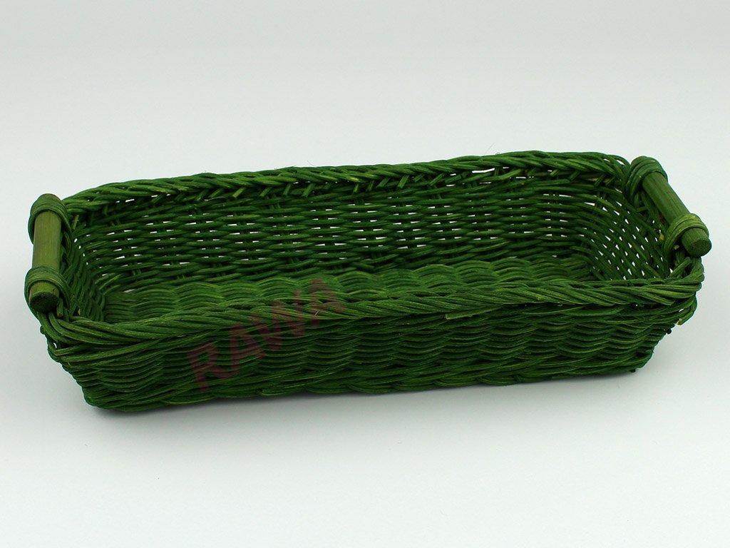 Pedigová miska 28x12 - zelená
