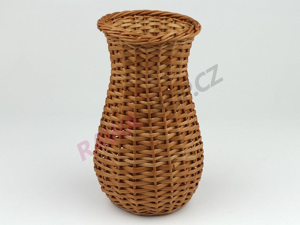 Proutěná váza střední