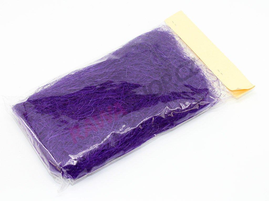 Sisal 20g - tmavě fialový
