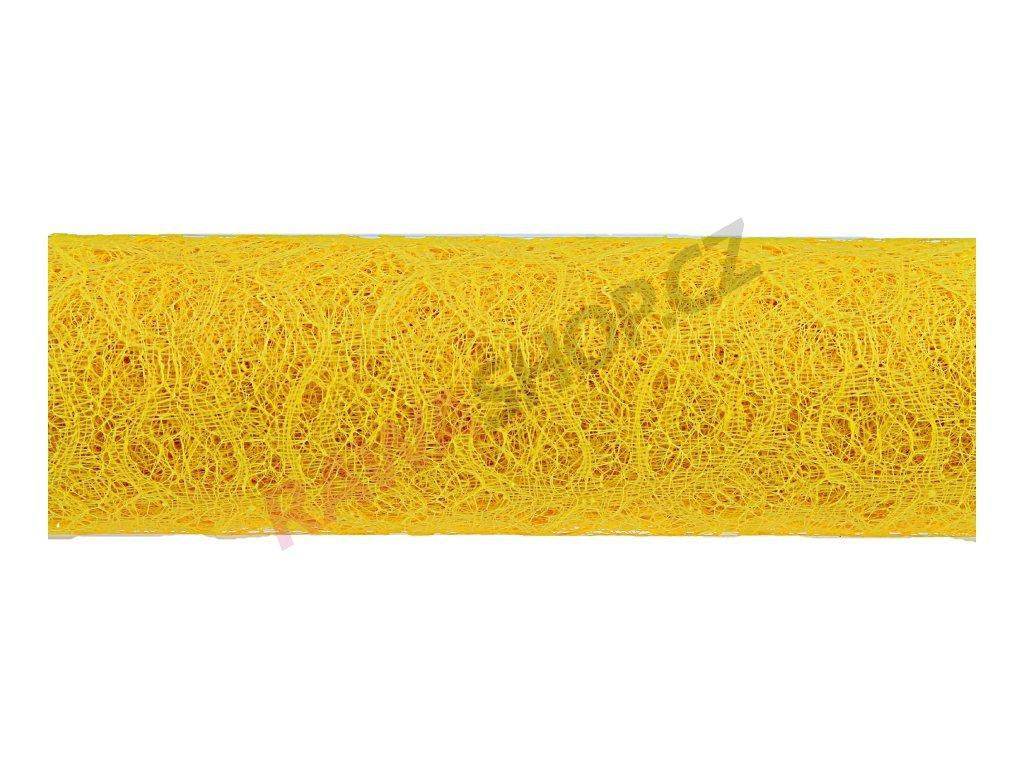 Loop mesh 50cm - žlutá