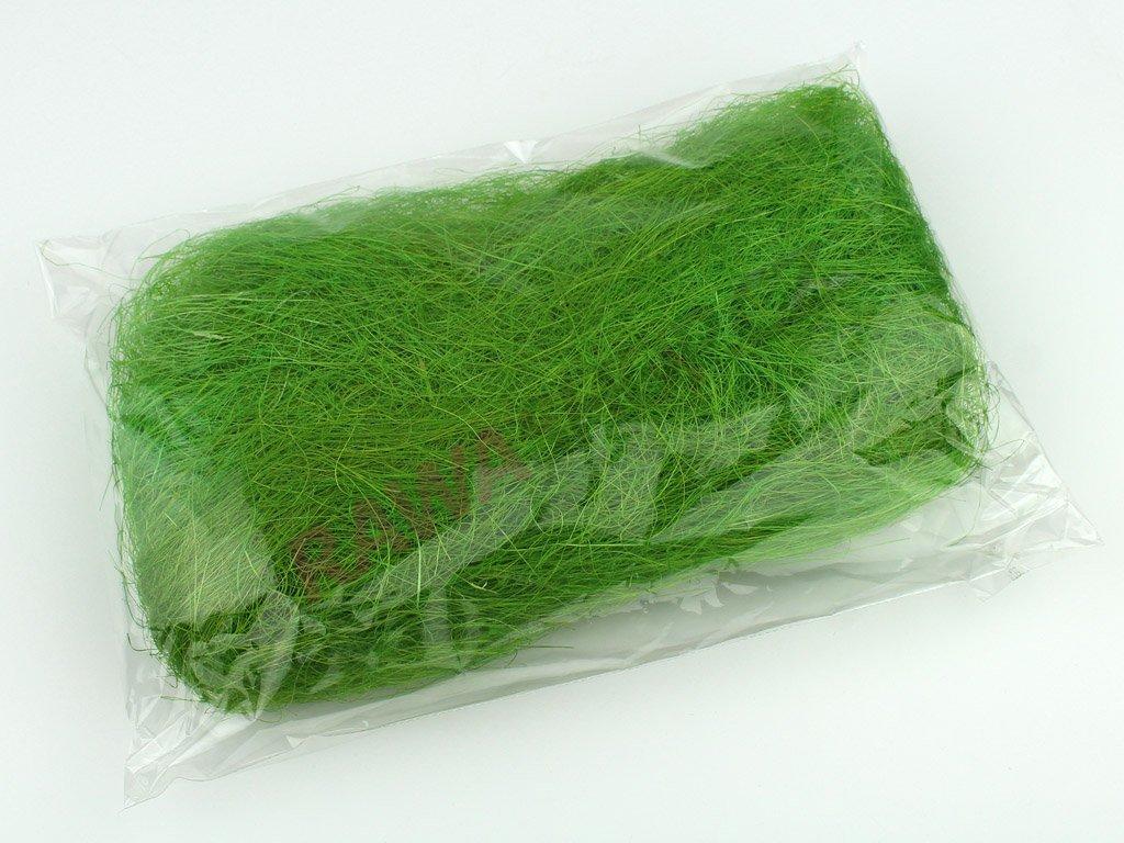 Sisal 50g - tmavě zelená