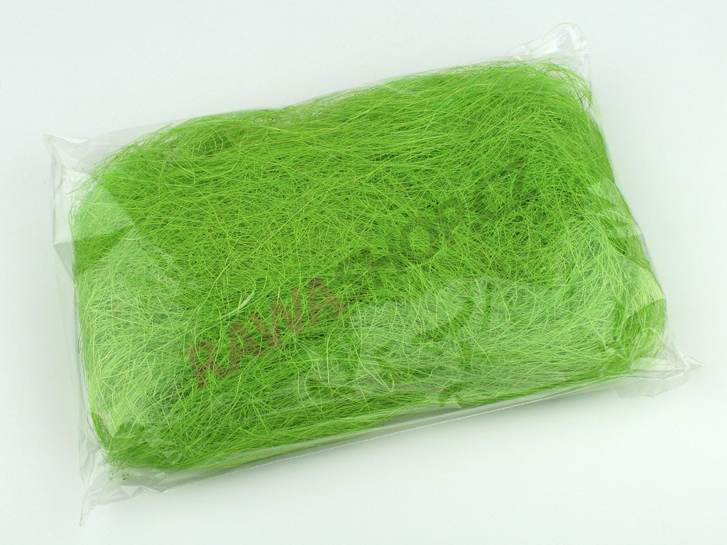Sisal 50g - zelená