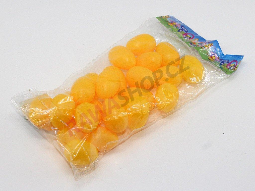 Vejce 24 ks - žlutá
