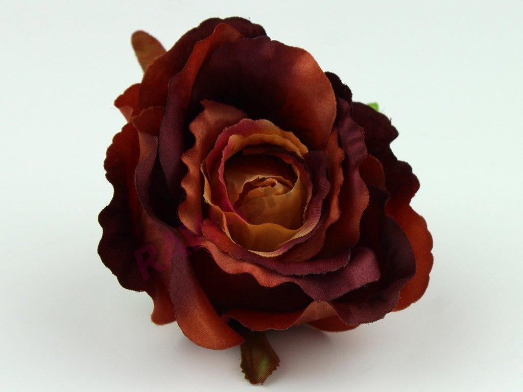 Růže 23069 - tmavý bronz/béžová