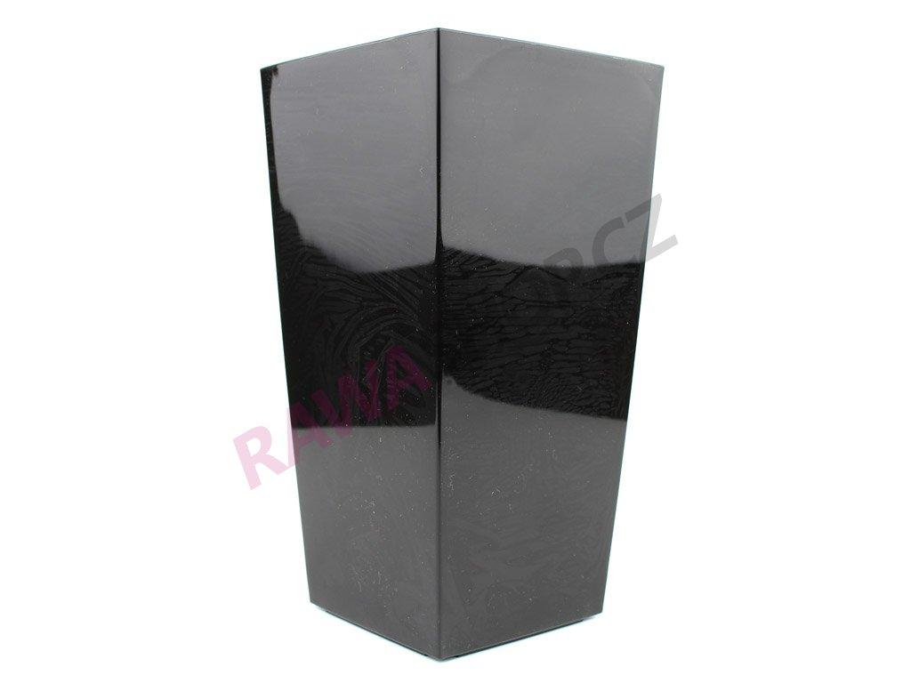 Plastový obal čtvercový 14cm - černá