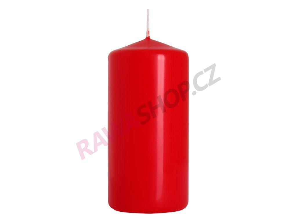 23. Svíčka válec 50 100 červená BSW50100 030