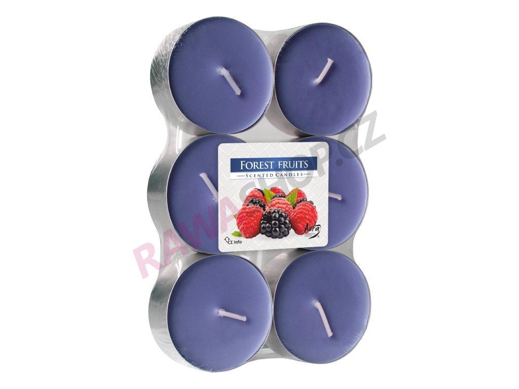 2. Čajové svíčky Maxi 6 ks Forest fruits
