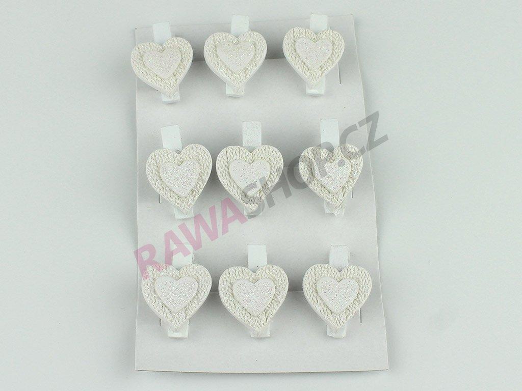 Kolíčky srdce 2