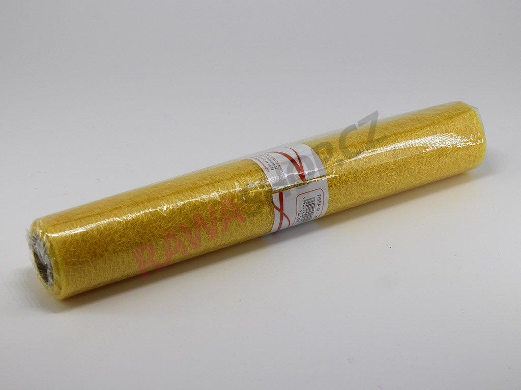 Spider organza 36 cm - světle žlutá